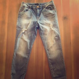 Weathered jeans